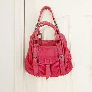 Botkier Pink Mini Sasha Duffel Bag Purse